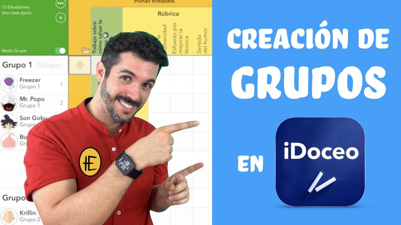 Crear grupos en iDoceo