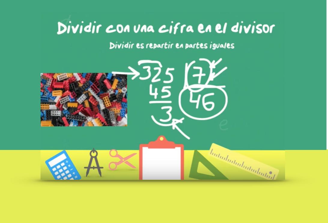 Dividir con una cifra en el divisor (ejemplo 2) - jose-david.com