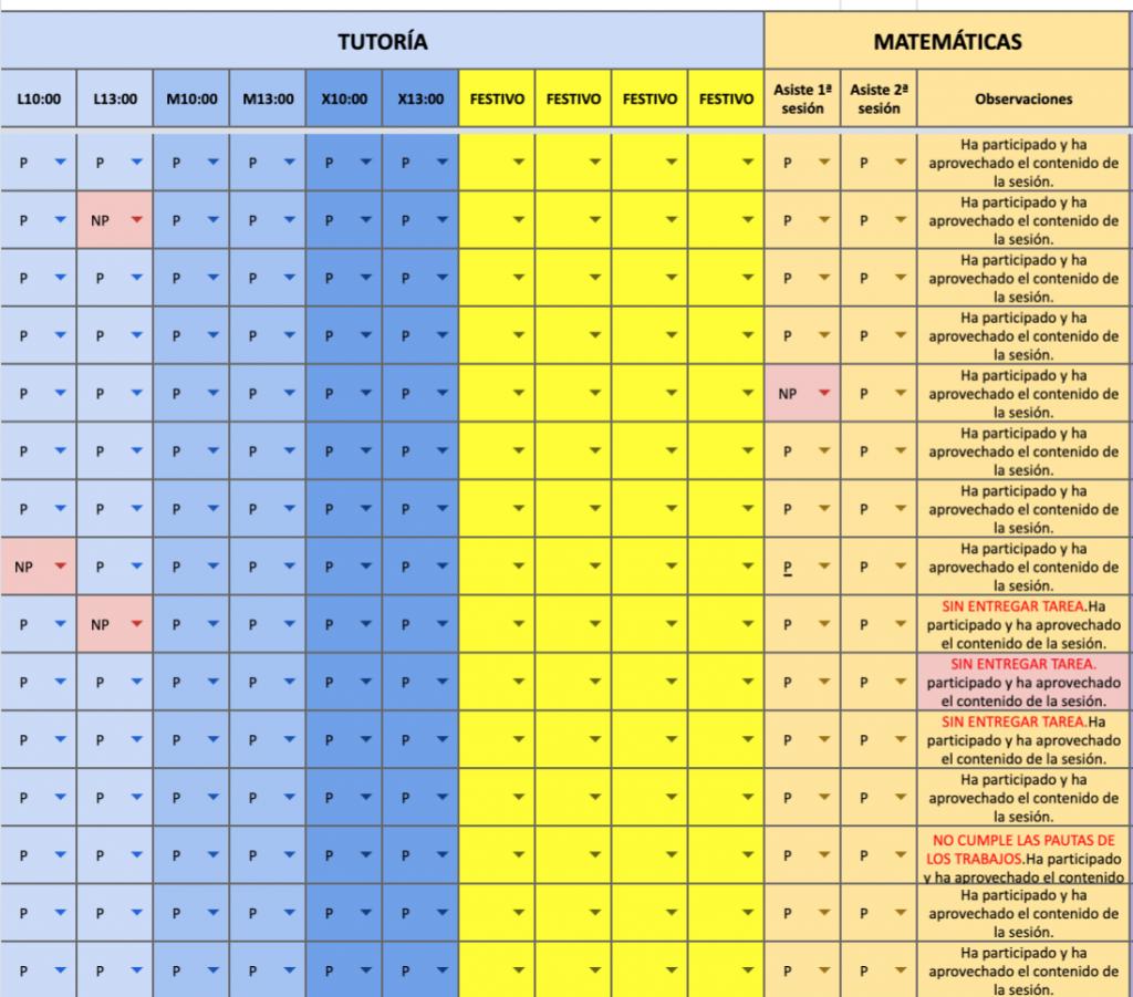 Ejemplo de registro de información de alumnos (1).