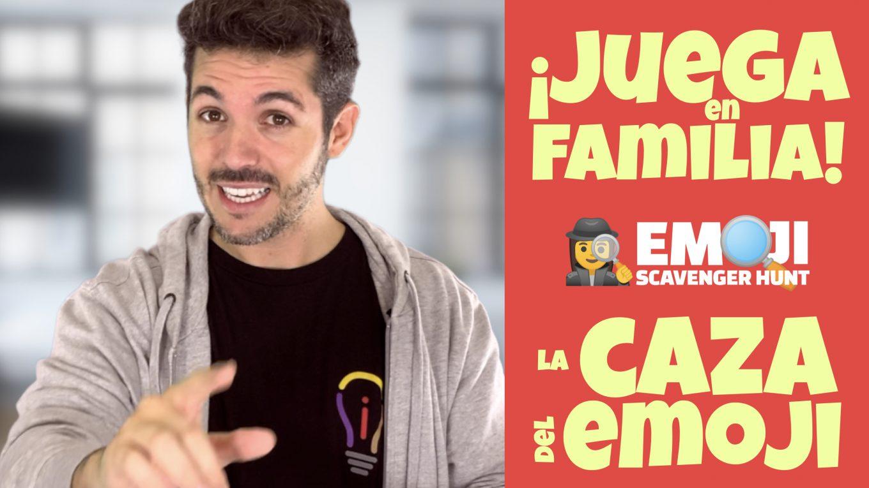 """Diviértete con """"La Caza del Emoji"""". José David Pérez (jose-david.com)."""