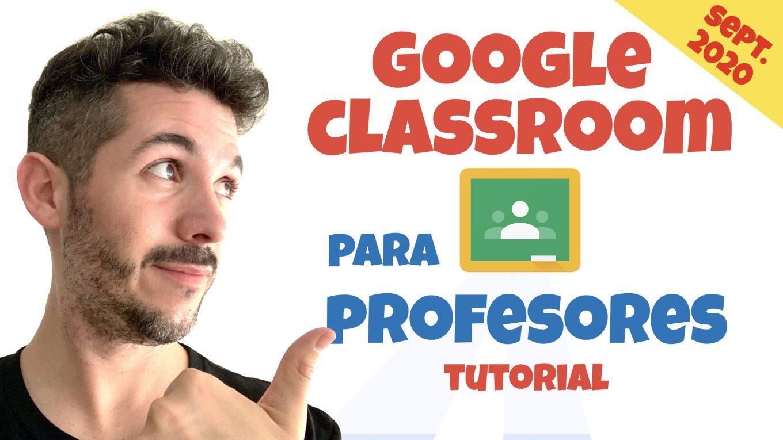 Tutorial Google Classroom para profesores - José David Pérez (jose-david.com)