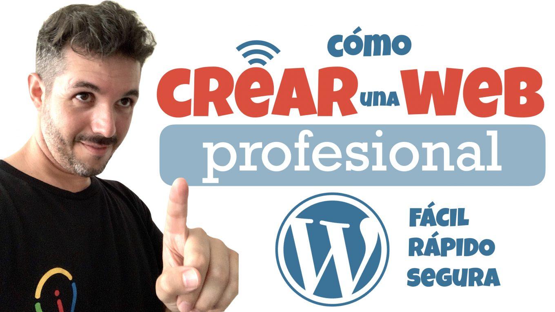 ✅ Cómo CREAR Una PÁGINA WEB 🚀😎 [Rápido, Fácil, Profesional y Segura] Con WORDPRESS - José David Pérez (jose-david.com)
