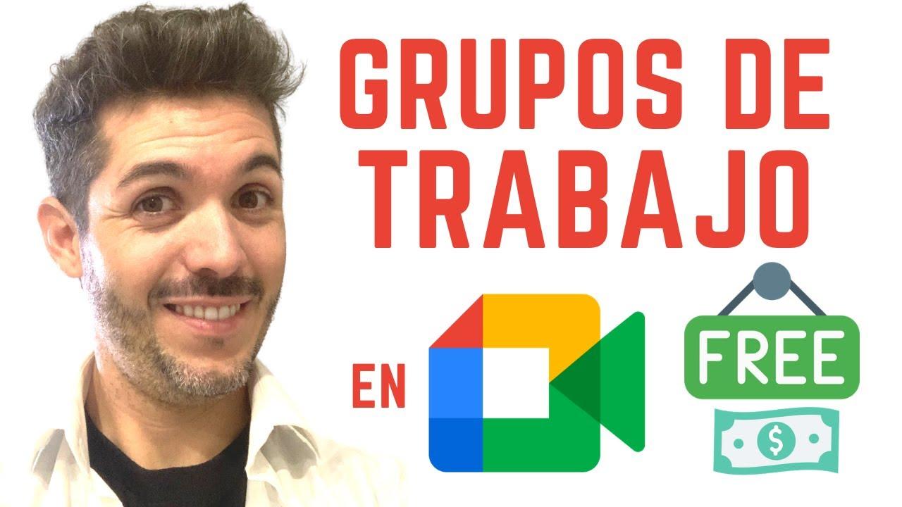Cómo crear grupos de trabajo en Google Meet - José David Pérez (jose-david.com)