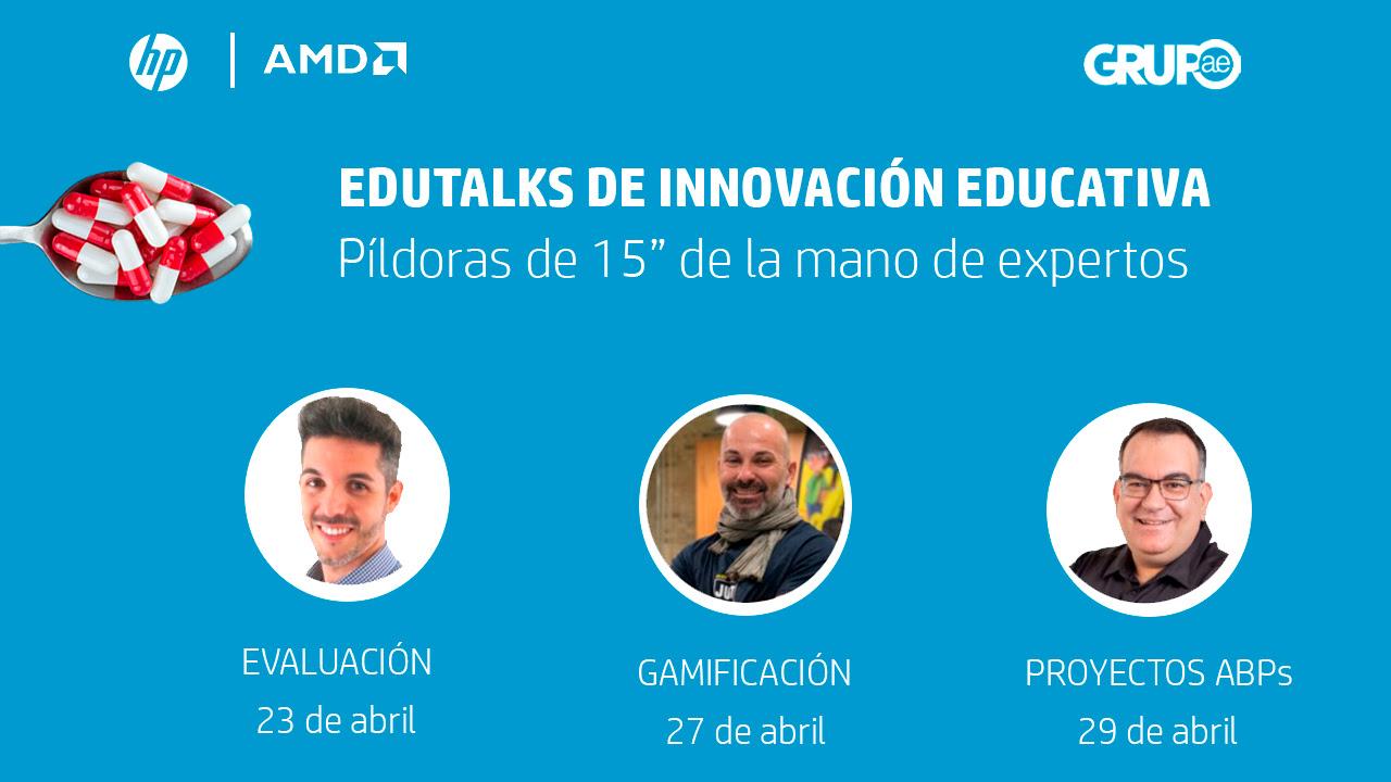 Ponencia Ponencia en Edutalk sobre evaluación de HP y AMD - José David Pérez (jose-david.com)en Edutalk de HP y AMD - José David Pérez (jose-david.com)